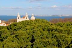 Mening van Lissabon stock afbeeldingen