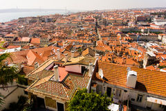 Mening van Lissabon Royalty-vrije Stock Fotografie