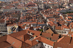 Mening van Lissabon, Portufal Stock Afbeelding