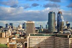 Mening van Londen van het Oog van Londen Royalty-vrije Stock Fotografie