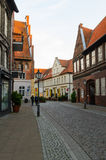 Mening van Luneburg, Duitsland Stock Foto's