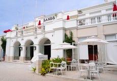 Mening van luxerestaurants in Boracay royalty-vrije stock foto