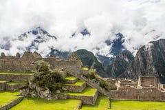 Mening van Machu Picchu Royalty-vrije Stock Fotografie