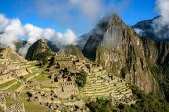 Mening van Machu Picchu Stock Foto's
