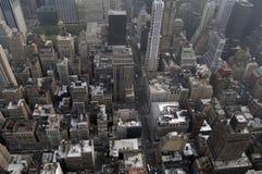 Mening van Manhattan Royalty-vrije Stock Afbeeldingen