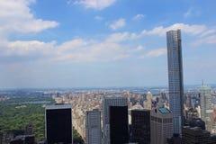 Mening van Manhattan Royalty-vrije Stock Foto