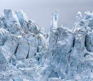 Mening van Margerie Glacier bij het Nationale Park van de Gletsjerbaai stock foto's