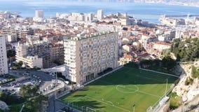Mening van Marseille, Frankrijk stock footage