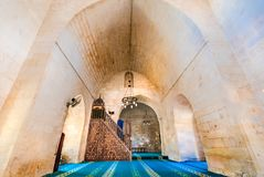Mening van Melik Mahmut Mosque in Mardin, Turkije royalty-vrije stock foto