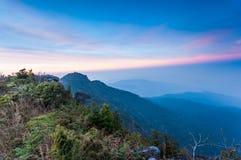 Mening van 1200 meters hoogte Royalty-vrije Stock Fotografie
