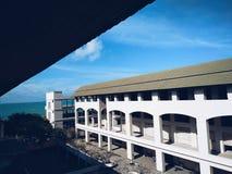 Mening van mijn balkon Royalty-vrije Stock Foto's