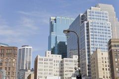 Mening van Minneapolis stock afbeeldingen
