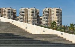 Mening van modern Valencia Stock Fotografie