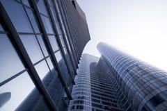 Mening van Moderne Gebouwen in Parijs Bedrijfs concept Stock Afbeelding