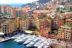 Mening van Monaco stock fotografie