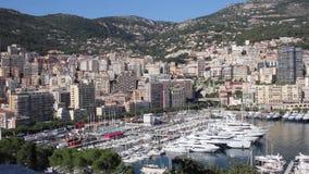 Mening van Monaco stock footage