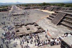 Mening van Monn piramid Stock Afbeelding