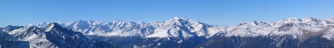 Mening van Monte Luco Stock Fotografie