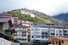 Mening van Montreux, Stock Fotografie