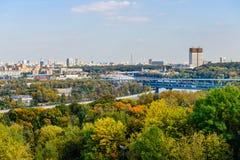 Mening van Moskou Royalty-vrije Stock Foto's