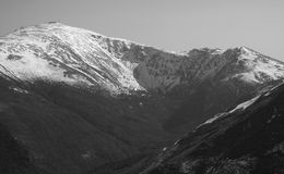 Mening van Mt. Washington Stock Foto
