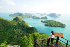 Mening van Mu Ko Angthong Island.#10 Royalty-vrije Stock Foto