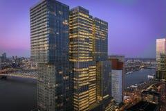 Mening van New Orleans die Rotterdam bouwen stock foto