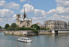 Notre-Dame in Parijs Royalty-vrije Stock Fotografie