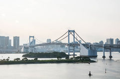 mening van Odaiba-eiland, Tokyo, Japan Stock Fotografie