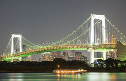 mening van Odaiba-eiland, Tokyo, Japan Royalty-vrije Stock Foto's