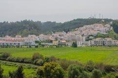 Mening van Odeceixe-dorp in Aljezur, Portugal Royalty-vrije Stock Afbeeldingen