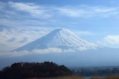 Mening van Onderstel Fuji Royalty-vrije Stock Foto's
