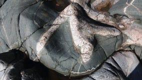 Mening van onze archipel en zijn verschillend type van graniet Stock Foto's