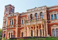 Mening van oud paleis Royalty-vrije Stock Foto's