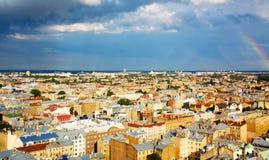 Mening van oud Riga Royalty-vrije Stock Fotografie