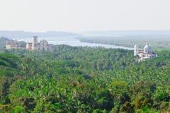 Mening van Oude Goa Royalty-vrije Stock Foto's