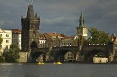 Mening van oude stad Praag - czek republiek Stock Fotografie