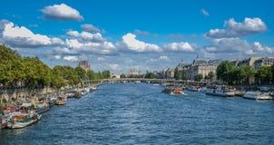 Mening van Parijs royalty-vrije stock afbeeldingen