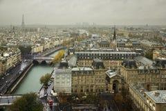 Mening van Parijs Royalty-vrije Stock Foto's