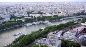 Mening van Parijs Stock Afbeeldingen
