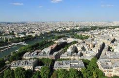Mening van Parijs Royalty-vrije Stock Fotografie