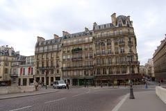 Mening van Parijs de stad in Royalty-vrije Stock Foto's