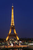 Mening van Parijs en de Toren Eiffel op 3 Mei, 2013 in Parijs.  Stock Afbeelding
