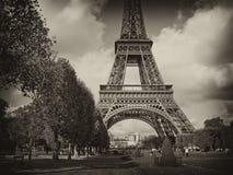 Mening van Parijs, Frankrijk Stock Foto's