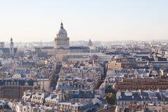 Mening van Parijs. Frankrijk Stock Fotografie