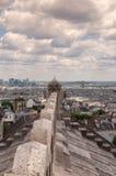 Mening van Parijs van Sacre Coeur Stock Afbeeldingen