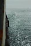 Mening van passagiersveerboot op het Japanse overzees Royalty-vrije Stock Fotografie