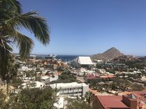 Mening van Pedregal, Cabo Royalty-vrije Stock Foto