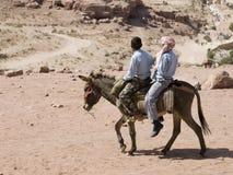 Mening van Petra van ezel royalty-vrije stock fotografie