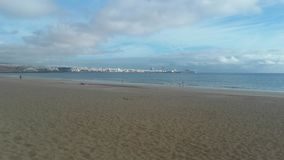 Mening van Playa-Blanca, Fuerteventura, Canarias 6 royalty-vrije stock afbeelding